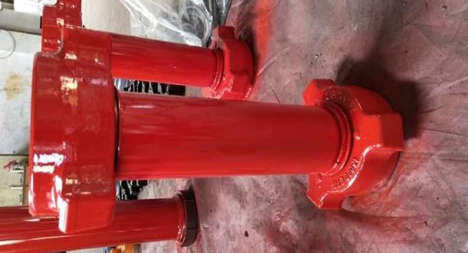 埃及8P-80泥浆泵配件、管件、接头发货