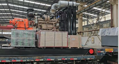 蒙古国客户订购F500泵组发货
