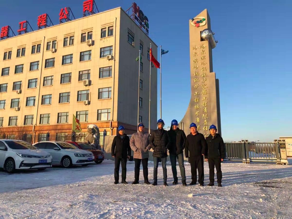 哈萨克阿特劳炼油厂用户验收锅炉及滑阀配件